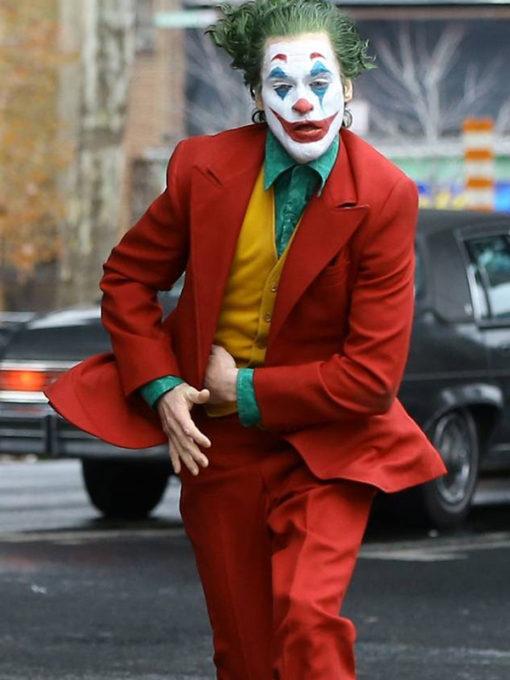 Joaquin Phoenix Tuxedo from Joker