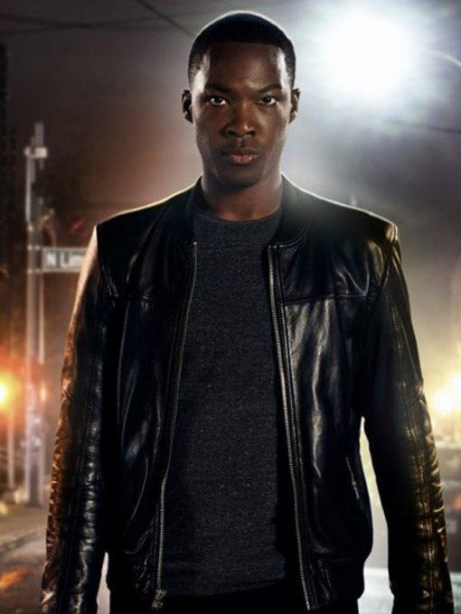 24 Legacy Eric Carter Black Leather Jacket