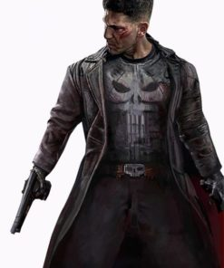 John Bernthal The Punisher Leather Coat