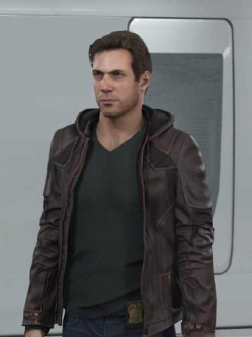 Detroit Become Human Gavin Reed Hooded Jacket