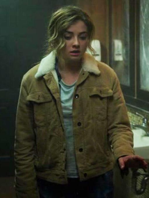 Giorgia Whigham Corduroy Jacket The Punisher