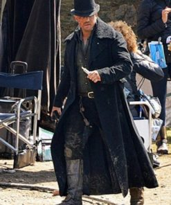Taboo Tom Hardy Black Wool Long Coat