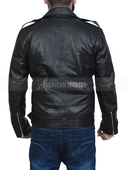 The Walking Dead Jeffrey Dean Morgan Black Jacket