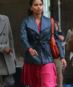Zazie Beetz Joker Coat
