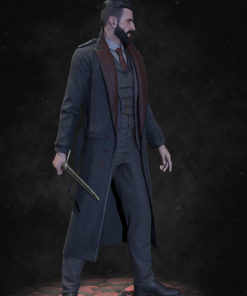 Video Game Vampyr Jonathan Reid Trench Coat