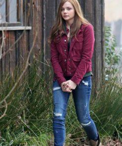 If I Stay Chloe Grace Moretz Cotton Jacket