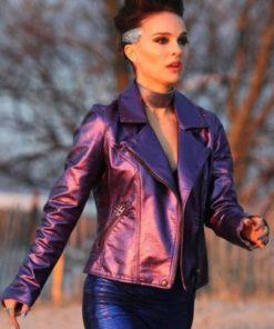 Celeste Vox Lux Purple Jacket