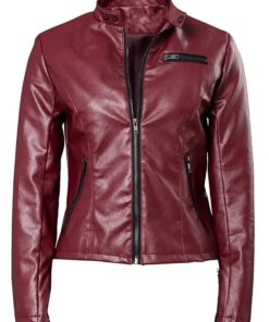 Claire Redfield Resident Evil 2 Red Leather Jacket
