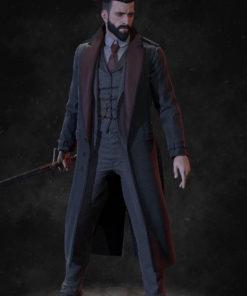 Jonathan Reid Vampyr Black Coat
