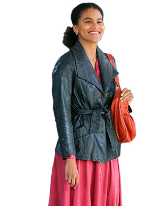 Sophie Dumond Joker Leather Coat