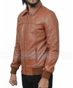 Kevin Costner Brown Jacket from 3 Days to Kill