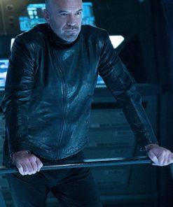 Alan Van Sprang Star Trek Discovery Leather Jacket