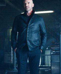 Shadowhunters Alan Van Sprang Black Leather Jacket