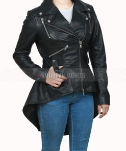 Allison Umbrella Academy Leather Jacket