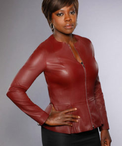 Viola Davis Leather Jacket from How To Get Away with Murder