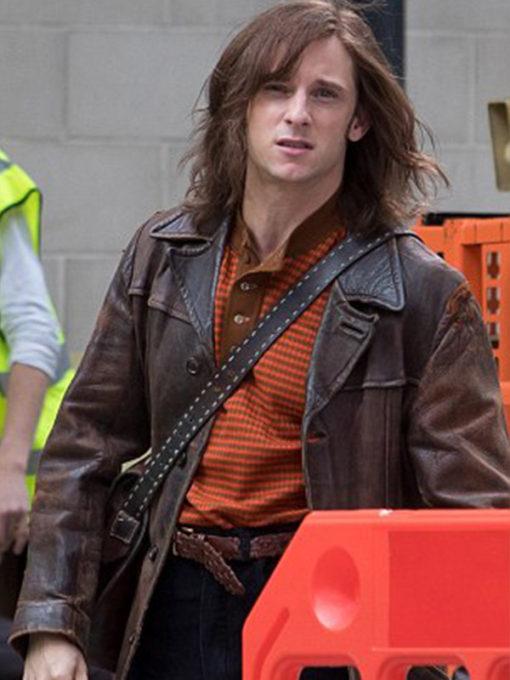 Rocketman Bernie Taupin Leather Jacket