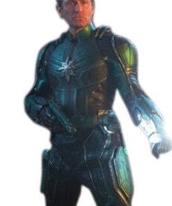 Jude Law Metallic Green captain Marvel Jacket