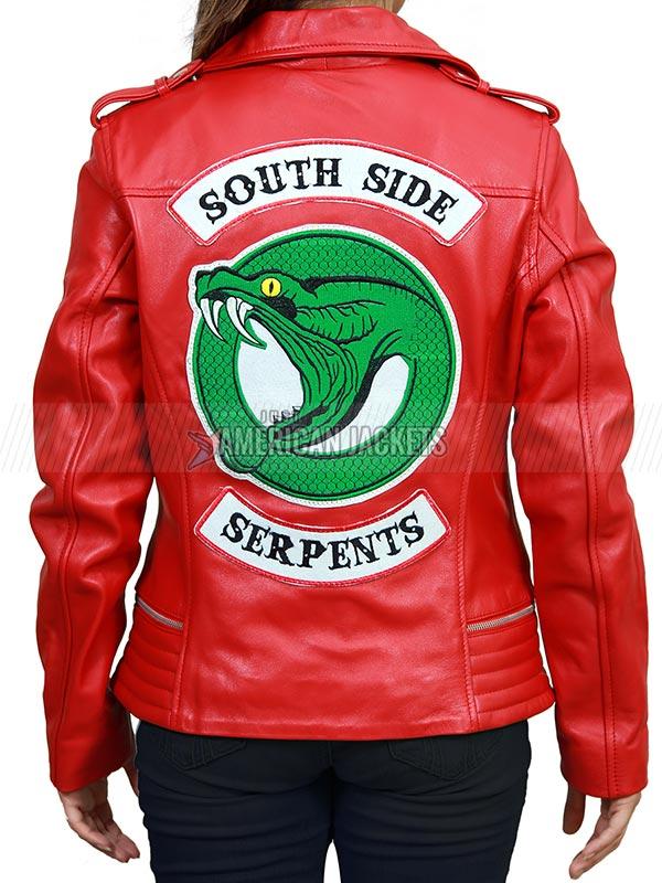 Cheryl Blossom Southside Serpent Jacket