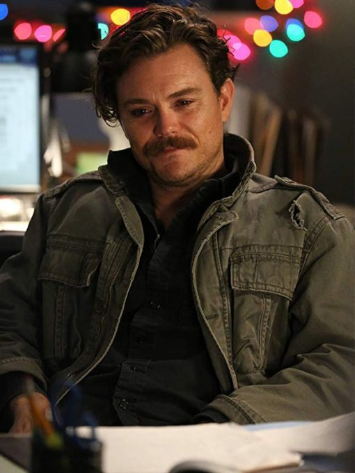 TV Series Lethal Weapon Martin Riggs Grey Cotton Jacket
