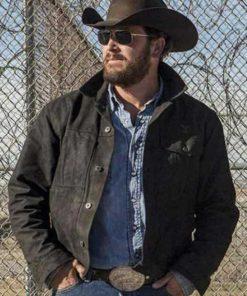 Cole Hauser Yellowstone Rip Wheeler Cotton Jacket