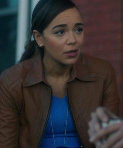 Allison The Umbrella Academy Leather Jacket