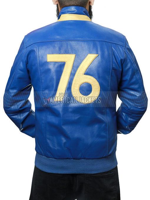Fallout 76 Vault Tec Blue Jacket