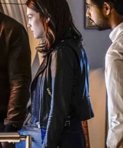 TV Series God Friended Me Cara Bloom Leather Jacket