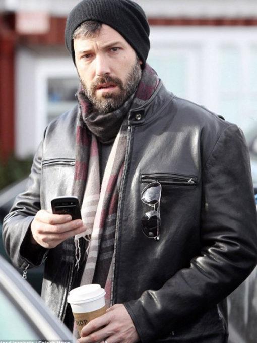 Ben Affleck Casual Black Jacket