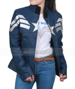 The Winter Soldier Chris Evans Jacket for Women