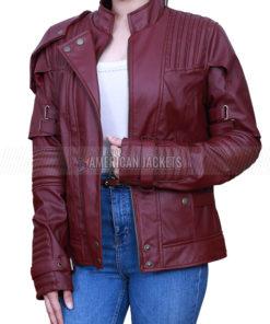 Star Lord Guardians of The Galaxy 2 Chris Pratt Jacket for Women