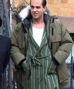 Bobby Cannavale The Irishman Olive Green Parka