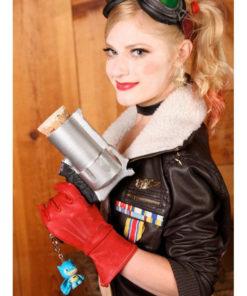 Bombshell Harley Quinn Black Jacket