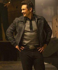 James Franco The Deuce Black Leather Jacket