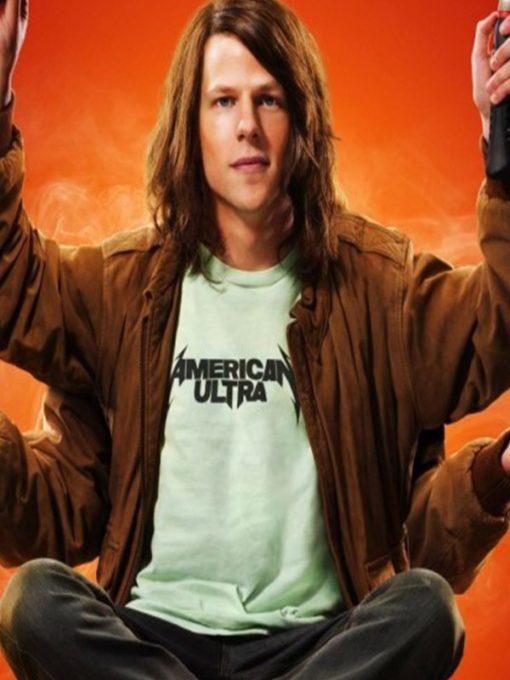 American Ultra Mike Howell Brown Jacket