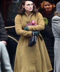 Keira Knightley Wool Coat