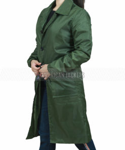 A Discovery of Witches Green Coat