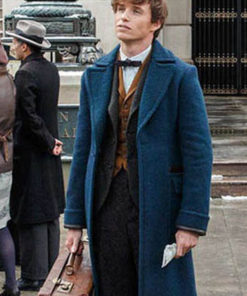 Eddie Redmayne Wool Coat