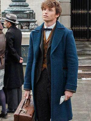 Eddie Redmayne Wool Coat