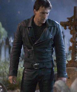 Johnny Blaze Ghost Rider Nicolas Cage Motorcycle Jacket
