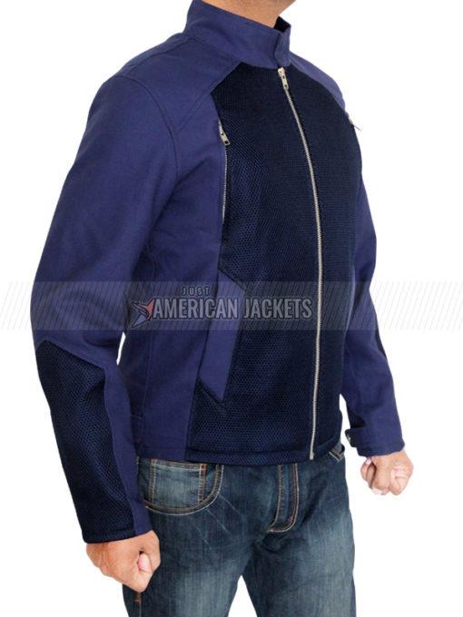 Steve Rogers Blue Jacket