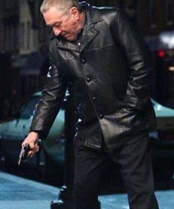 Robert De Niro The Irishman Frank Sheeran Black Jacket