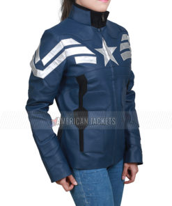 Captain America The Winter Soldier Steve Rogers Jacket for Women