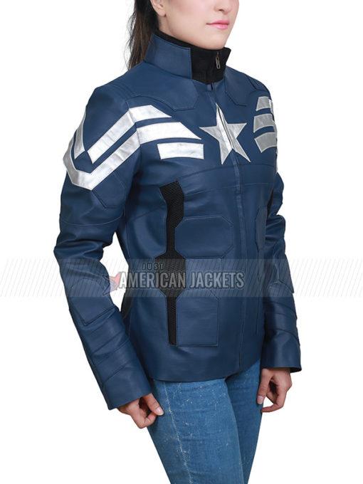 Captain America The Winter Soldier Steve Rogers Jacket for Women