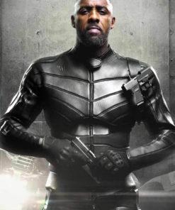 Idris Elba Black Jacket