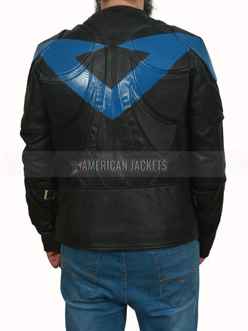 Batman Arkham Knight Nightwing Black Jacket