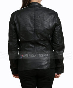 Ashleigh Cummings NOS4A2 Vic McQueen Leather Jacket