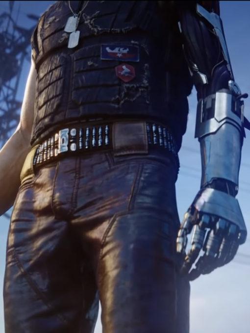 Cyberpunk 2077 Keanu Reeves Samurai Vest