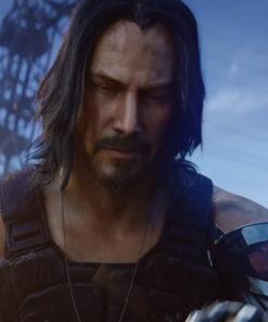 Keanu Reeves Cyberpunk 2077 Johnny Silverhand Vest