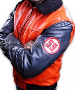 Dragon Ball Z Guko Leather Jacket