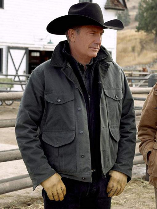 John Dutton Yellowstone Green Jacket